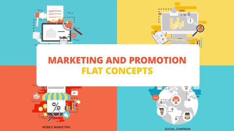 Marketing and promotion After Effects Template
