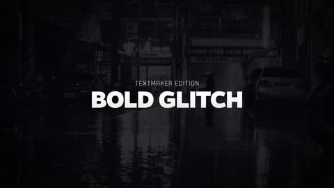 Titles Animator - Bold Glitch After Effects Template