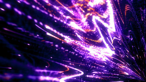 Elegant Light Streaks 03 Animation
