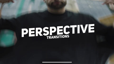 Perspective Transitions Apple Motion Template