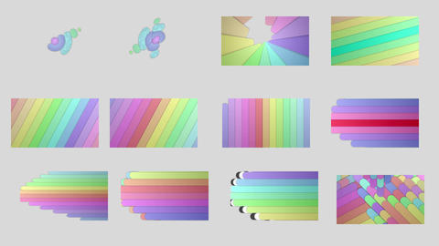 ラインアニメーショントランジション After Effectsテンプレート