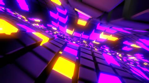 Running Cubes Animation