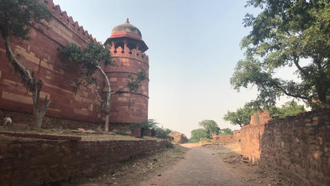 Fatehpur Sikri, India - ancient architecture from the past part 3 Live Action