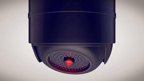 Indoor Security Camera Animation