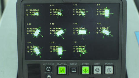 Microelectronic Equipment In Testing Work Footage