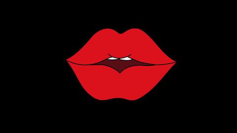Set animated lips Animation