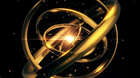 Ring BackGround CG Animation