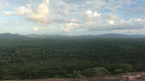 Sigiriya, Sri Lanka, evening time on the horizon Live Action