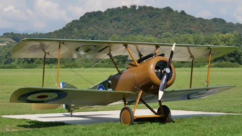 Sopwith Camel British First World War british vintage military biplane aircraft Live Action