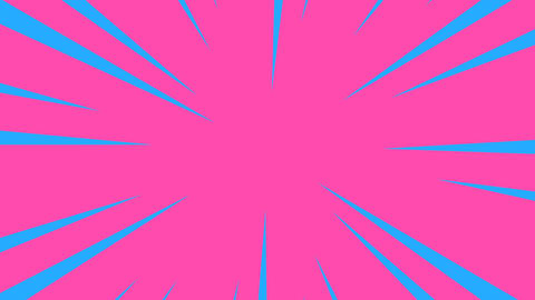 Pink and blue radial anime line background Animation
