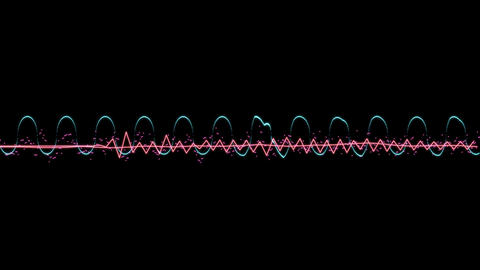 Audio Visualizer Music React CG動画