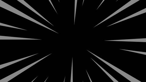 Black and gray radial anime line background Animation