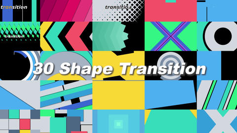 Shape Transition Plantillas de Motion Graphics
