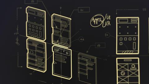 App Development User Interface User Experience Wireframes Blueprint Animation Animation