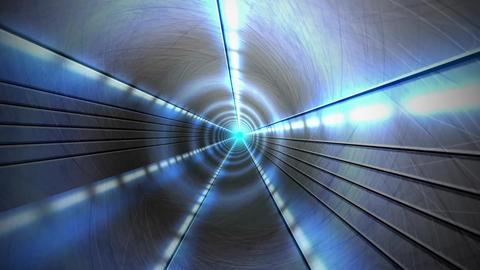 Futuristic DJ Tunnel