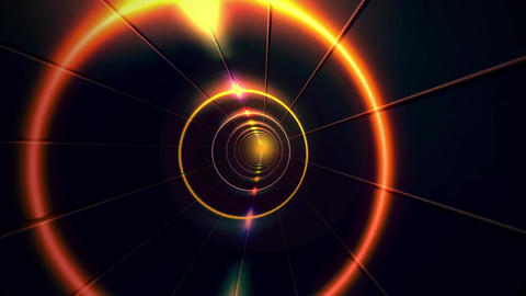 Futuristic DJ Tunnel 1