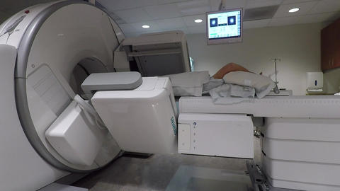 Hospital radiology cancer treatment diagnosis patient HD 914 Live Action