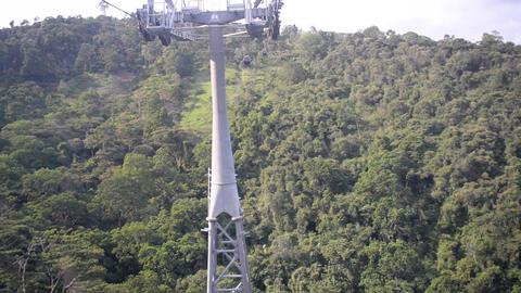 Aerial Tram in Floridablanca Footage