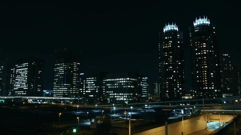 tokyo bayarea nightview Footage