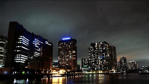 tokyobayarea nightview Footage