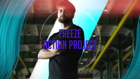 Freeze action project Plantillas de Premiere Pro