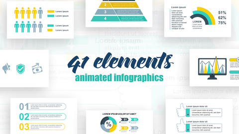 Infographics Vol 38 After Effects Template