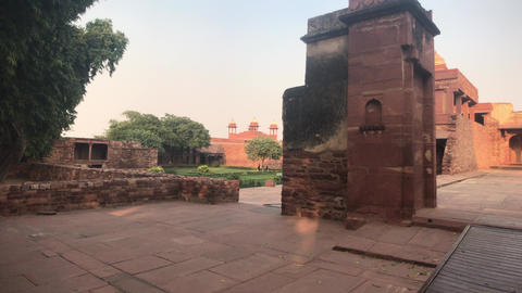 Fatehpur Sikri, India - historic remnants of former luxury part 2 Live Action