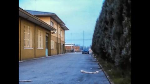 VILLANOVA DEL GHEBBO, ITALY 1975: Old Italian House exterior 5 Live Action