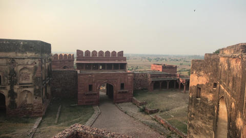 Fatehpur Sikri, India - historic buildings of the ancient city part 8 Live Action