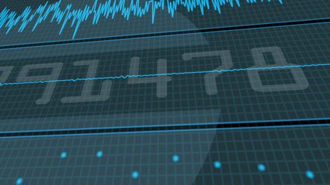 Background audio waves Animation