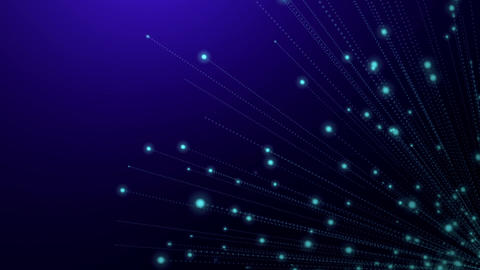 Glowing abstract background animation exploding Animation