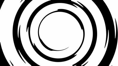 Swirly transition mask reveal opener Animation
