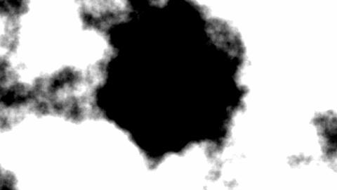 Smoke reveal opener Animation