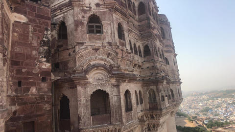 Jodhpur, India - majestic buildings of antiquity part 5 Live Action