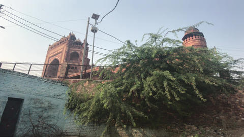 Fatehpur Sikri, India - historic remnants of former luxury part 3 Live Action