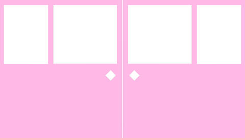 TRANSITION【FUSUMA PINK】 Animation