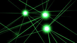 Laser lights motion graphics with night background Videos animados