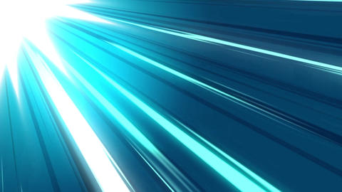 Blue colour speed lines motion graphics Animation