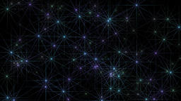 Star rays motion graphics with night background CG動画