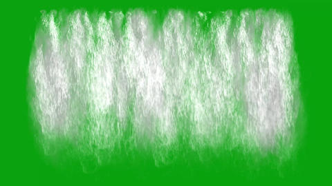 Waterfalls Green Screen - Set Of 5 - 4k Videos