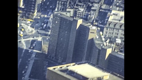NEW YORK 1975: New York streets view in the mid 70's 15 Live Action