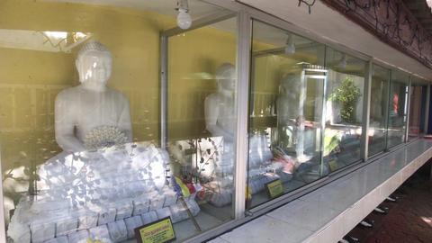 Kandy, Sri Lanka, November 20, 2019, Bahiravokanda Vihara Buddha Statue, Buddha Live Action