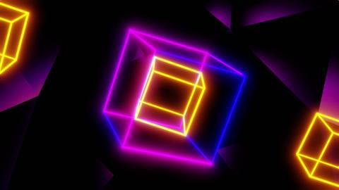 VJ Cubes CG動画