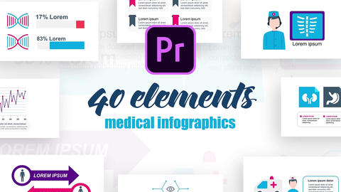 Infographics MOGRT vol.28 Motion Graphics Template