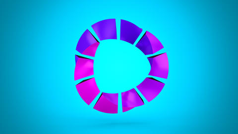 Rotating Geometric Shape Animation