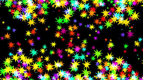 Starry background CG動画