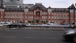 Tokyo station, Tokyo, Japan Footage