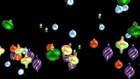 Festival ornaments motion graphics with night background Animation