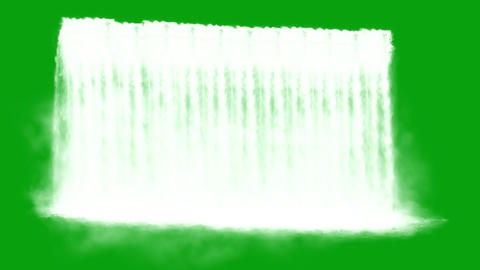 Waterfalls Green Screen - Set Of 5 - 4k Videos 2