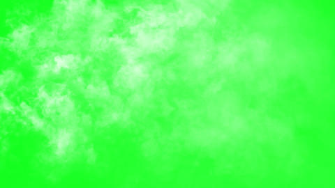 Flying Through The Clouds On The Green Screen Background Animation